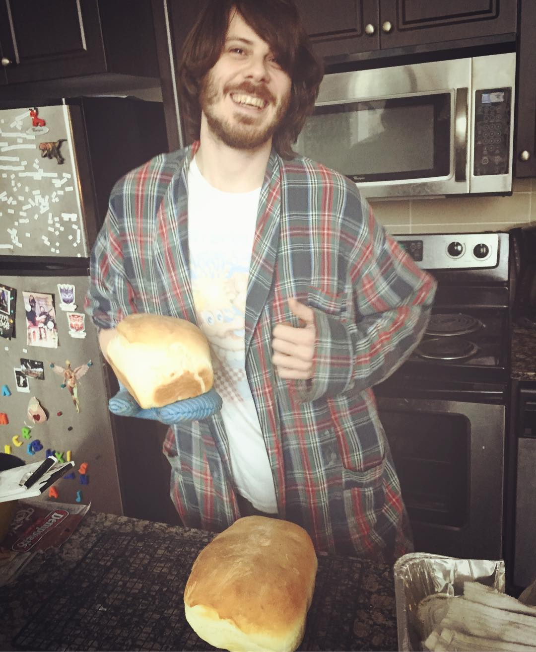 Hes cute and he made bread so yes I thinkhellip